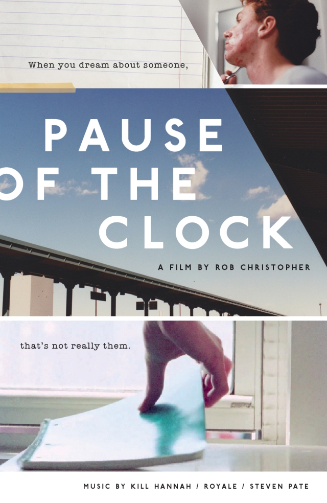 """Pause of the Clock"" poster"