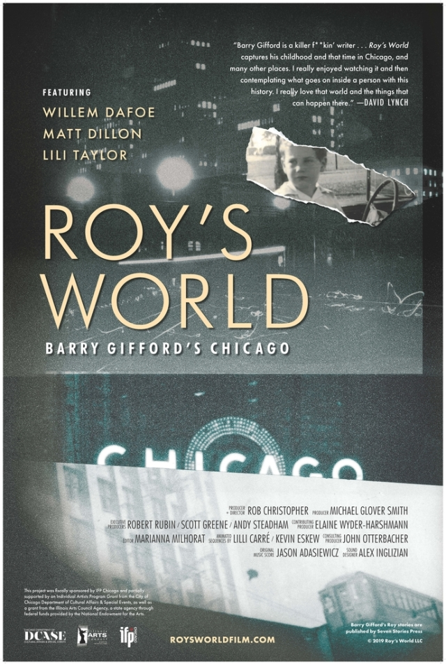 movie poster for ROY'S WORLD